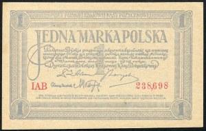 1 marka 1919 - IAB -