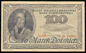 100 marek 1919 - AD -