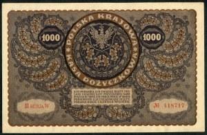 Zestaw banknotów, 1000 marek 1919 (13szt.)