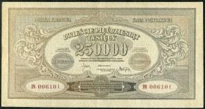 250000 marek 1923 - BN - numeracja szeroka