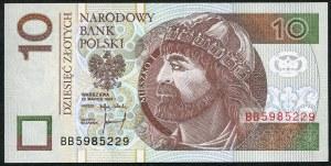 10 złotych 1994 – BB -