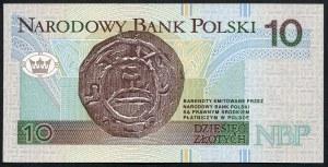 10 złotych 1994 – YB - seria zastępcza