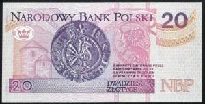 20 złotych 1994 – AA -