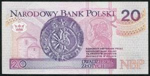 20 złotych 1994 – ZA - seria zastępcza
