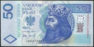 50 złotych 1994 – ZA - seria zastępcza