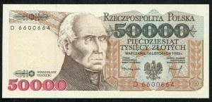 50000 złotych 1993 – D -