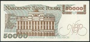 50000 złotych 1989 – A -