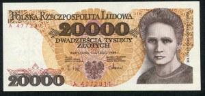 20000 złotych 1989 – A -