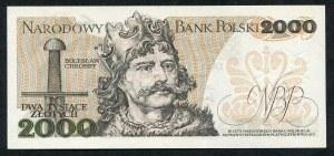 2000 złotych 1979 – S -