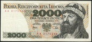 2000 złotych 1979 – AA -