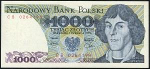 1000 złotych 1979 – CB -