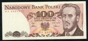 100 złotych 1986 – NA -