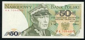 50 złotych 1988 – KA -