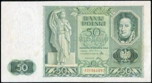 50 złotych 1936 - AD -