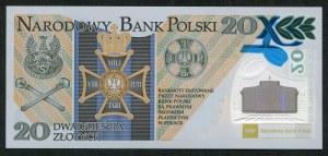 20 złotych, 2014, 100. rocznica Legionów Polskich