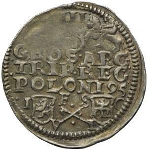 Zygmunt III Waza, trojak 1595, Bydgoszcz