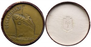 II RP, 1935 pierwsza podróż statku M/S Piłsudski