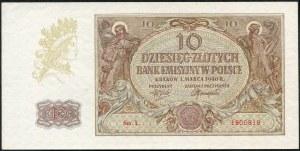 10 złotych 1940 ser. L.