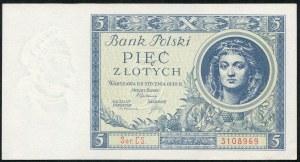 5 złotych 1930 – CS -