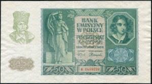 50 złotych 1940 - B -