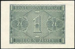 1 złotych 1941 – BB -