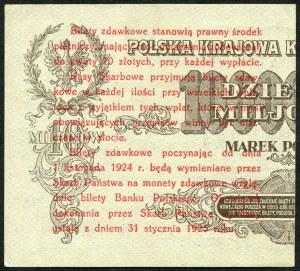 5 groszy 1924, bilet zdawkowy (prawy)
