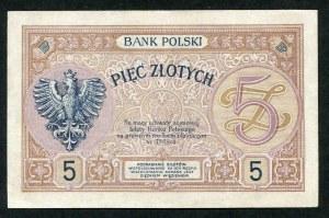 5 złotych 1919 - S.30. B -