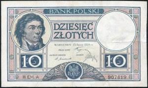 10 złotych 1924 III EM. A