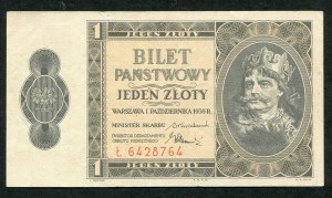 1 złoty 1938 - Ł -