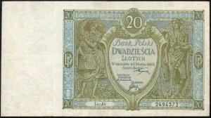 20 złotych 1926 ser. AV.