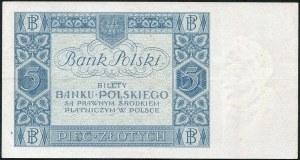 5 złotych 1930 – U -