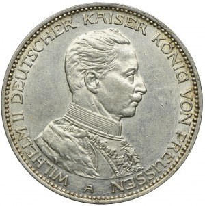Niemcy, Prusy, 3 marki 1914, A/Berlin