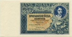20 złotych 1931 – DH -