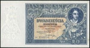 20 złotych 1931 – BW -