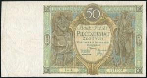 50 złotych 1925 ser. A.