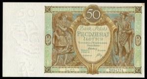 50 złotych 1929 ser. ED.