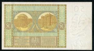 50 złotych 1929 ser. CU.