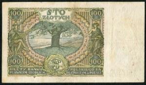 100 złotych 1932 ser. BT. +x+ w znaku wodnym