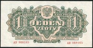 1 złoty 1944 ...owym - AB -