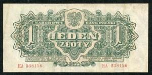 1 złoty 1944 ...owym - HA -