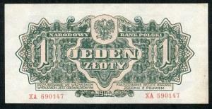 1 złoty 1944 ...owym - XA -