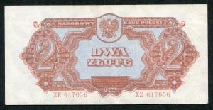 2 złote 1944 ...owym - XE -