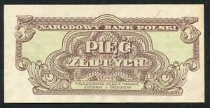 5 złotych 1944 ...owe - YK -