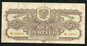 5 złotych 1944 ...owe - HE -