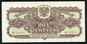 5 złotych 1944 ...owe - aE -