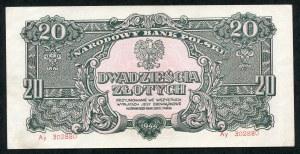 20 złotych 1944 ...owe - Ay -