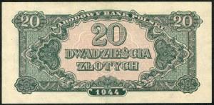 20 złotych 1944 ..owe - HX -
