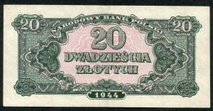20 złotych 1944 ...owe - bH -