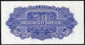 50 złotych 1944 ...owe - BH -