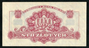 100 złotych 1944 ...owe - Au -